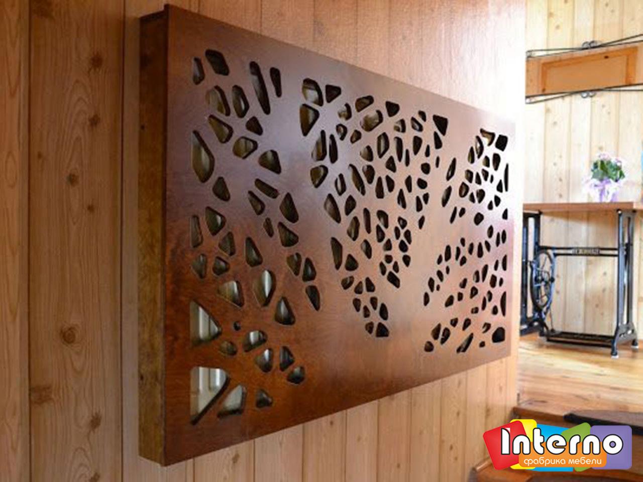 Декоративная решетка из фанеры своими руками